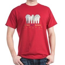 Nothin' Butt Bichons Red T-Shirt