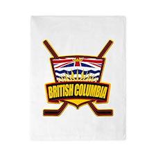 British Columbia Hockey Flag Twin Duvet