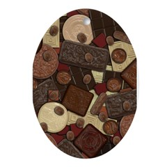 Got Chocolate? Ornament (Oval)