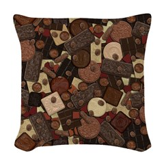 Got Chocolate? Woven Throw Pillow