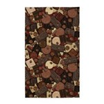 Got Chocolate? 3'x5' Area Rug