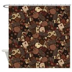 Got Chocolate? Shower Curtain