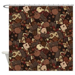 Got Chocolate? Shower Curtain