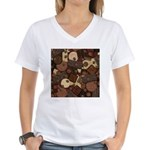 Got Chocolate? Women's V-Neck T-Shirt