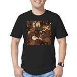 Got Chocolate? Men's Fitted T-Shirt (dark)