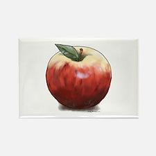 Crunchy Apple Rectangle Magnet