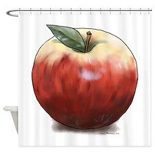 Crunchy Apple Shower Curtain