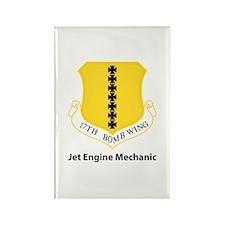 17th Bomb Custom Rectangle Magnet