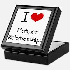 I Love Platonic Relationships Keepsake Box