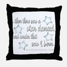 A Star Danced Throw Pillow