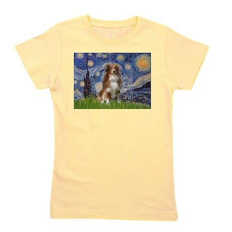 PILLOW-Starry-Aussie4-K.png Girl's Tee