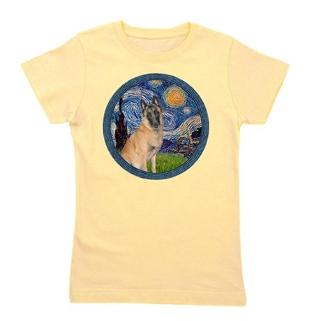 MP-Starry-BelgianMalanois5.png Girl's Tee
