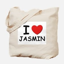 I love Jasmin Tote Bag