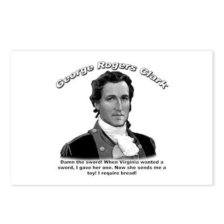 George Rogers Clark 01 Postcards (Package of 8)