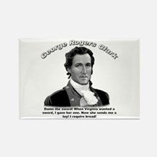 George Rogers Clark 01 Rectangle Magnet