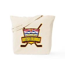 British Columbia Hockey Flag Tote Bag