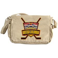 British Columbia Hockey Flag Messenger Bag