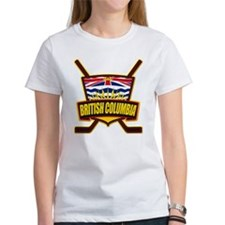 British Columbia Hockey Flag T-Shirt