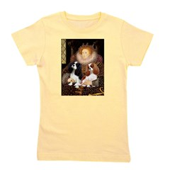 5.5x7.5-Queen-CavPAIR.PNG Girl's Tee