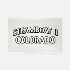 Steamboat II Colorado Rectangle Magnet