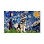 STARRY-GShepherd-10.png Rectangle Car Magnet