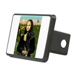 16x20-Mona-BlkGDane-nat Rectangular Hitch Cover