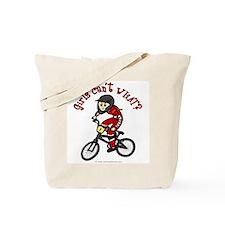 (light) Dirt Diva BMX Tote Bag