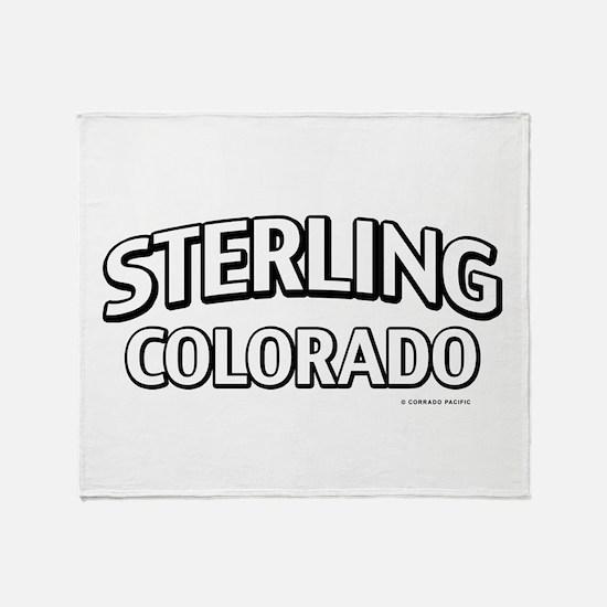 Sterling Colorado Throw Blanket