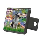 Lilies (#2) - Keeshond (mp).png Rectangular Hitch