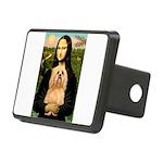 Lhasa Apso 9 - Mona Lisa.png Rectangular Hitch Cov