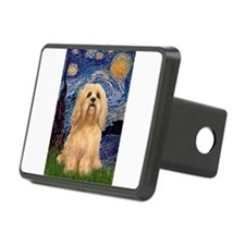 Lhasa Apso 9 - Starry Night (Vert).png Hitch Cover