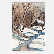Colder Days Postcards (Package of 8)