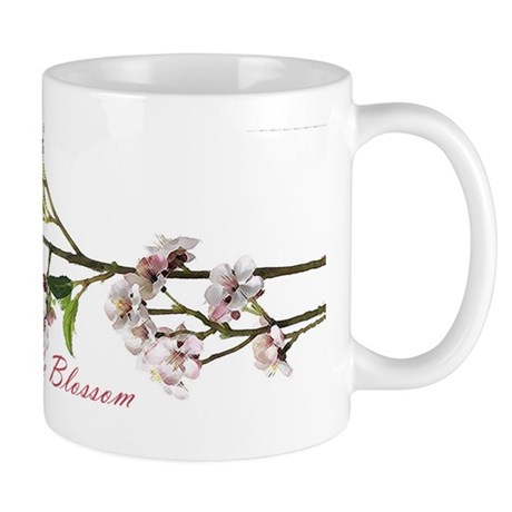 Pink Apple Blossom Coffee Mug