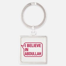 I Believe In Abdullah Keychains
