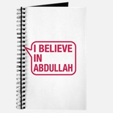 I Believe In Abdullah Journal