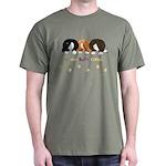 Nothin' Butt Corgis Green T-Shirt