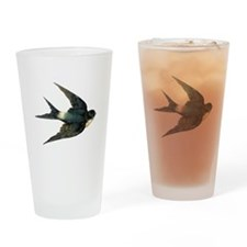 Flying Bird Drinking Glass