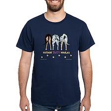 Nothin' Butt Catahoulas Navy T-Shirt