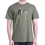 Nothin' Butt Catahoulas Green T-Shirt