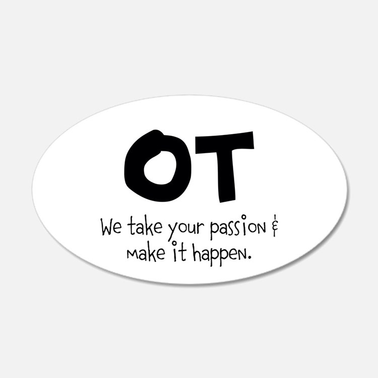 OT Your Passion Wall Decal