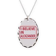 I Believe In Alexzander Necklace