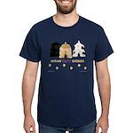 Nothin' Butt Cockers Navy T-Shirt