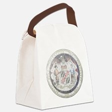 Maryland Vintage State Seal Canvas Lunch Bag