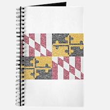 Vintage Maryland Flag Journal