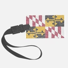 Vintage Maryland Flag Luggage Tag