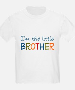I'm the Little Brother Kids T-Shirt