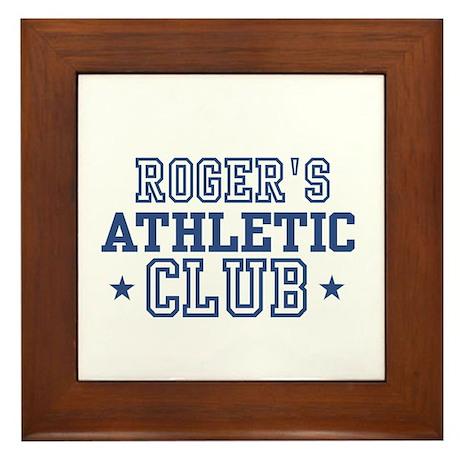 Roger Framed Tile