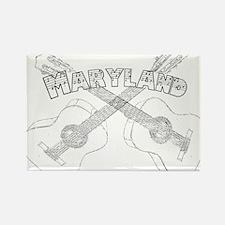 Maryland Guitars Rectangle Magnet