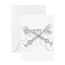 Maryland Guitars Greeting Card