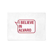 I Believe In Alvaro 5'x7'Area Rug